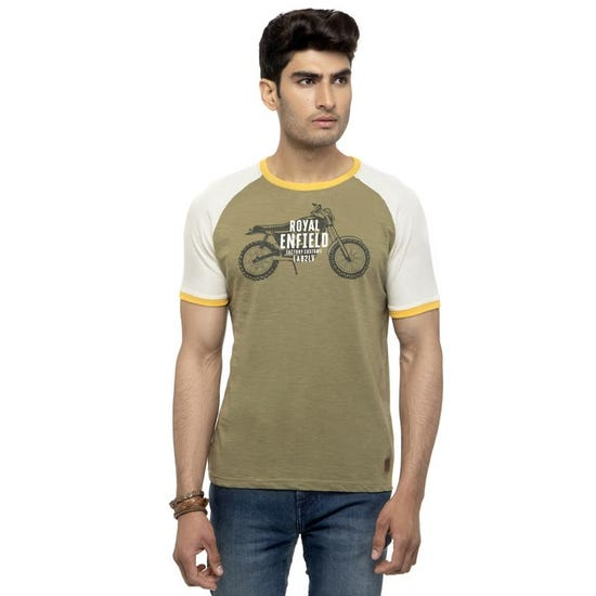 RIDE THE LEGACY T-SHIRT-LIGHT OLIVE