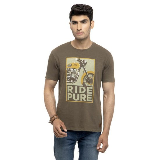 Ride Pure T-Shirt-Olive