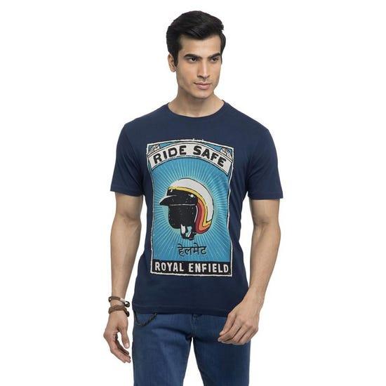 Ride Safe T-Shirt-Navy