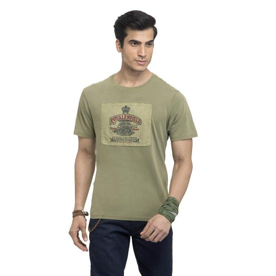 The Heritage T-Shirt-Light Olive