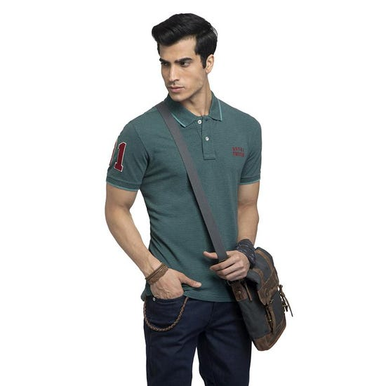 The One Polo T-Shirt-Green