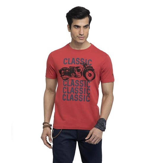 THE CLASSIC T-SHIRT- RED