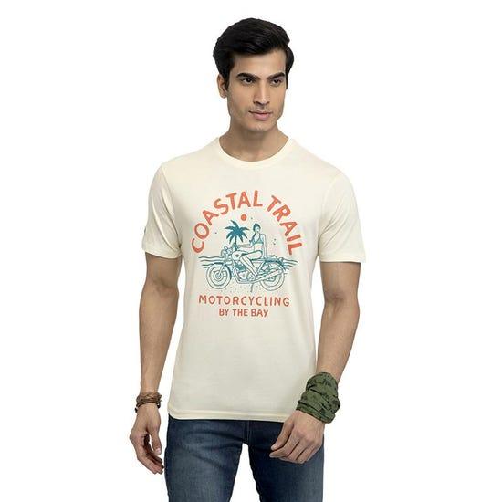 COASTAL TRAIL T-SHIRT -OFF WHITE