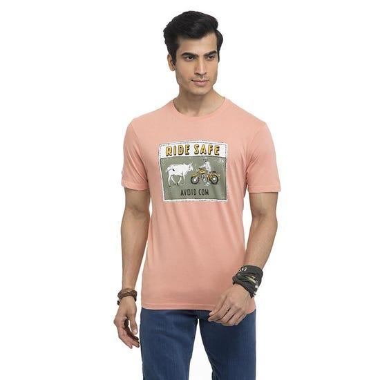Street Ready T-Shirt-Peach