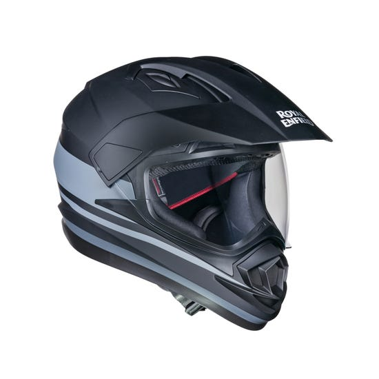 ESCAPADE THIN STRIPE HELMET-MATT BLACK