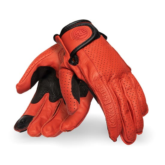 SUMMER RIDING WOMEN'S GLOVES -RED