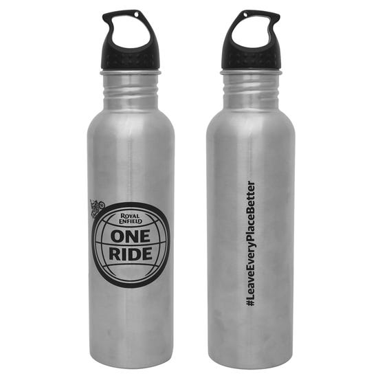 ONE RIDE SIPPER BOTTLE STAINLESS 750ml - BRUSHED GREY