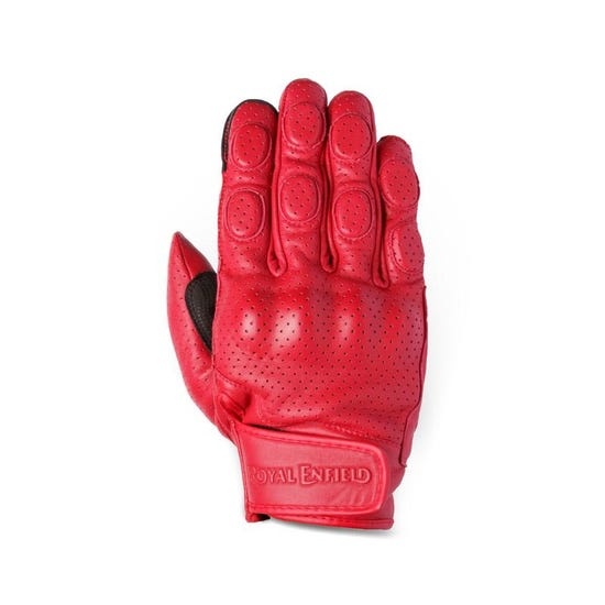 Burnish Gloves -Red