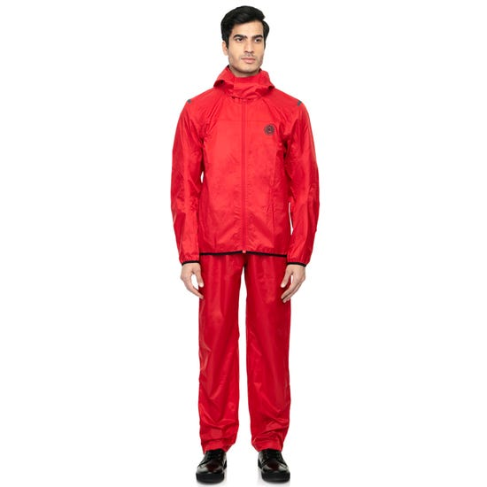 MONSOON RAIN SUIT RED