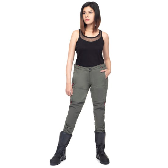NUBRA WOMEN 4 SEASON RIDING TROUSERS -OLIVE