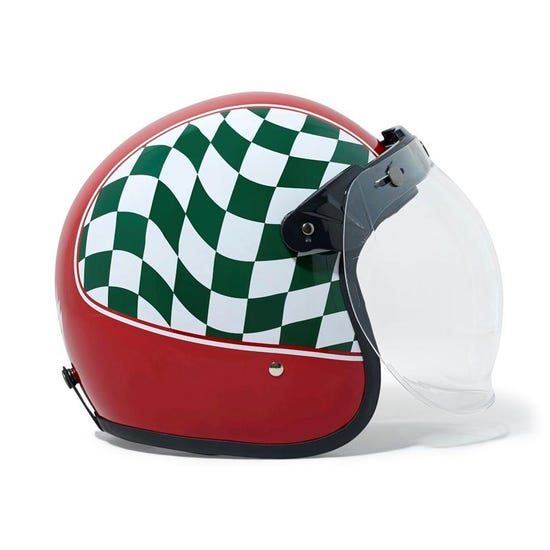Re Jet Helmet Red