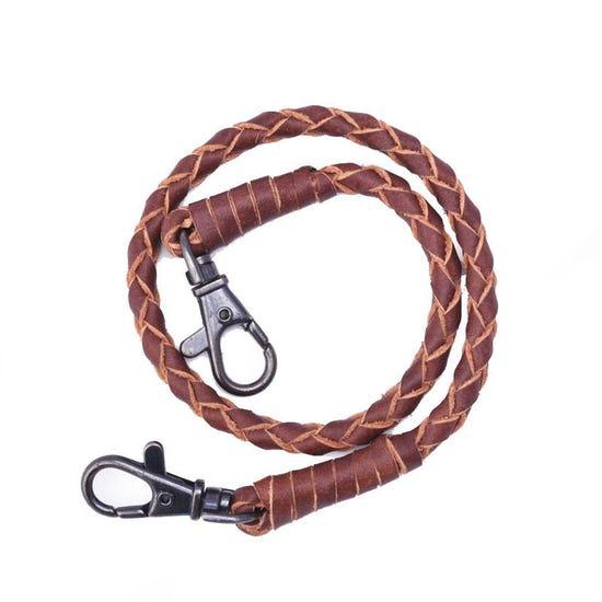 Wallet Hook String Brown