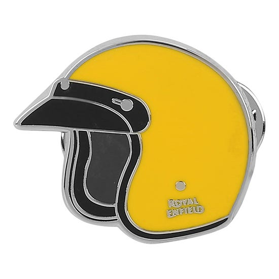 HELMET PIN-YELLOW