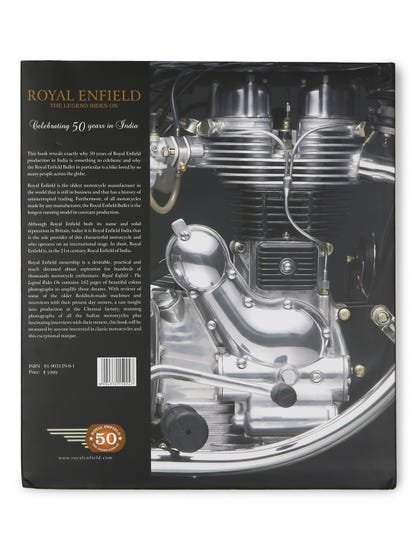 ROYAL ENFIELD - THE LEGEND RIDES ON