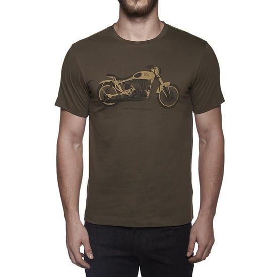 Classic Skunkworks T-Shirt Olive Green
