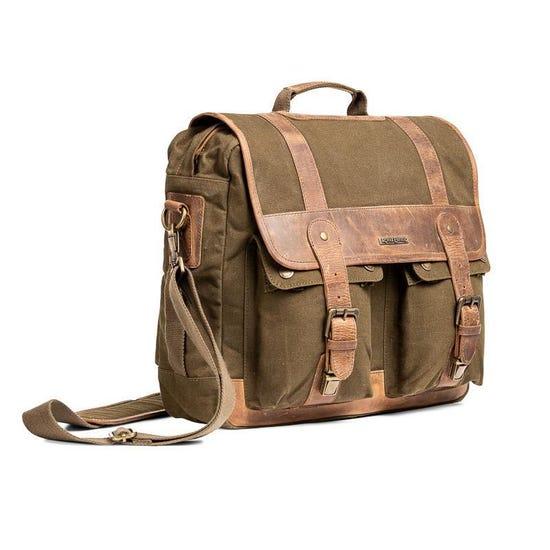 CLASSIC MESSENGER BAG OLIVE