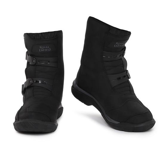 STELVIO MID RISE WP RIDING BOOTS-BLACK