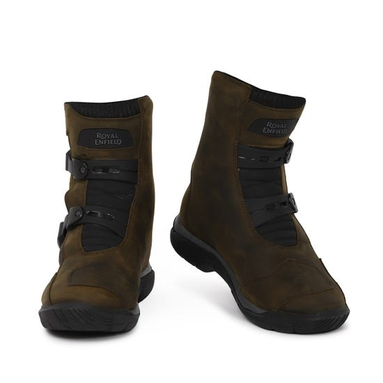 STELVIO MID RISE WP RIDING BOOTS-BROWN