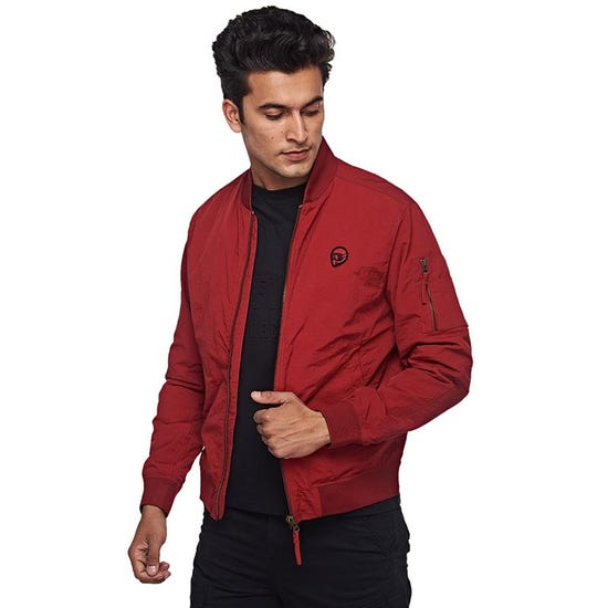 Reborn Jacket Salsa Red