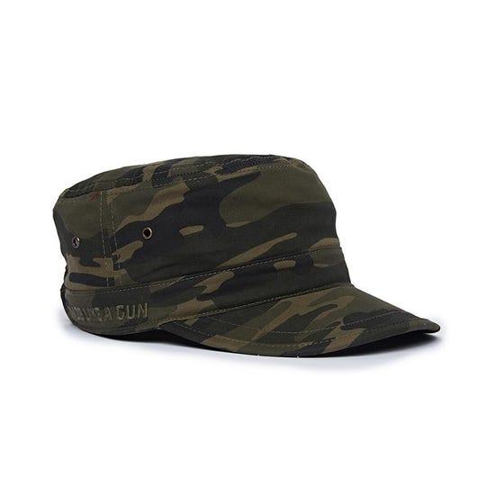 Army Cadet Cap Camo Green