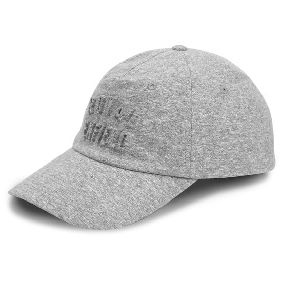 MELANGE CAP-GREY