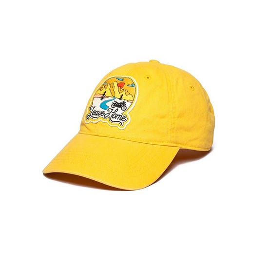 Leave Home Cap-Yellow