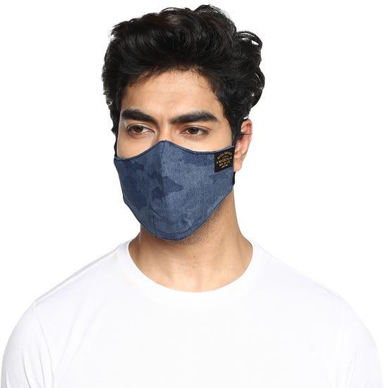 Garrison Facemask Camo