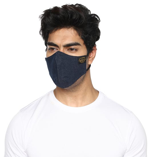 GARRISON FACEMASK NAVY
