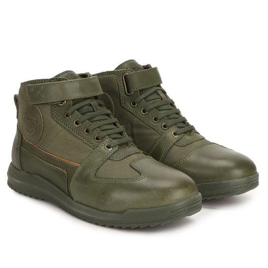 REGROUP SNEAKERS-OLIVE