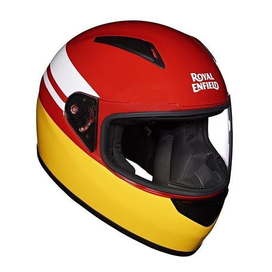 Street Prime Helmet Pitstop Red Yellow