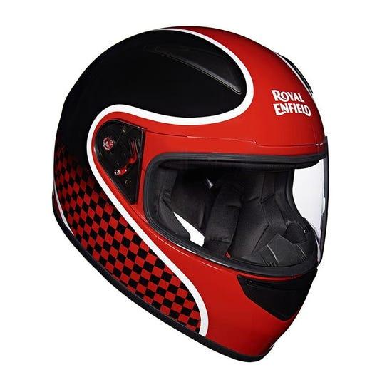 Street Prime Helmet Finish Line Black Red
