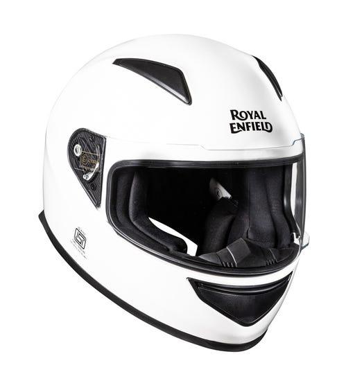 Street Prime Mono Helmet-White