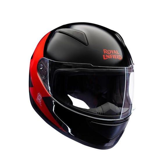 Bolt Full Face Helmet Black & Red