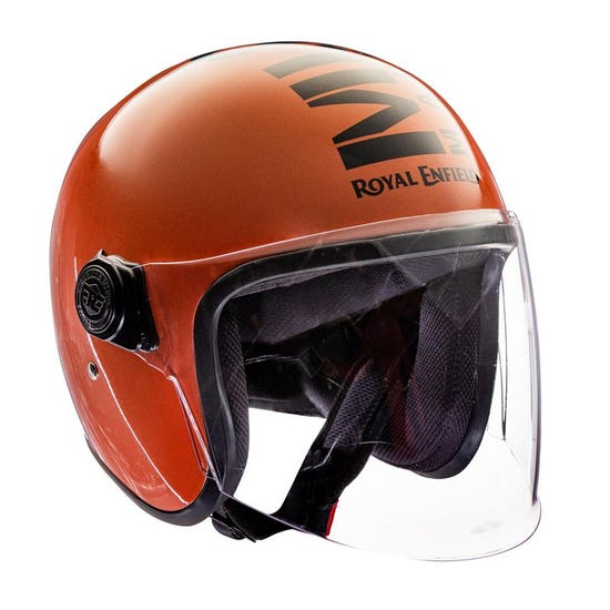 Mlg Long Visor - Gloss Orange
