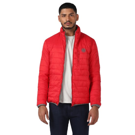 REVERSIBLE JACKET-GREY & RED