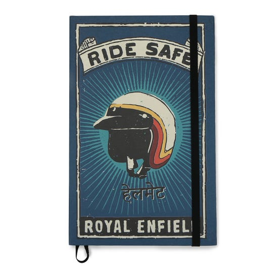 RIDE SAFE DIARY -BLUE