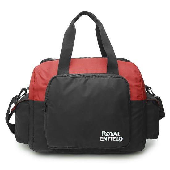 HELMET BAG-BLACK & RED