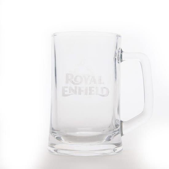 TANK-UP BEER MUG-GLASS