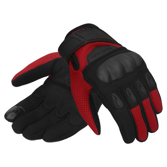 RAMBLER V2 GLOVES RED & BLACK