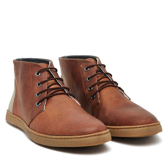 Donnington/Mid Ankle Sneaker Brown