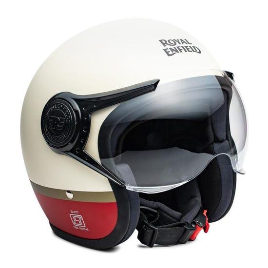 Scrambler Helmet Baker Express - Matt White