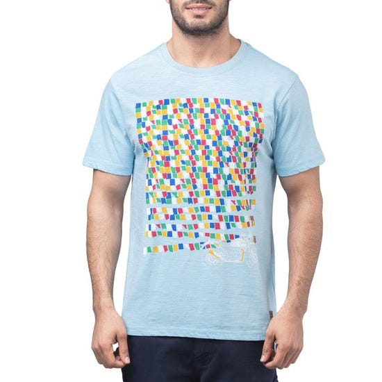 Prayers On The Wind T-Shirt - Sky Blue