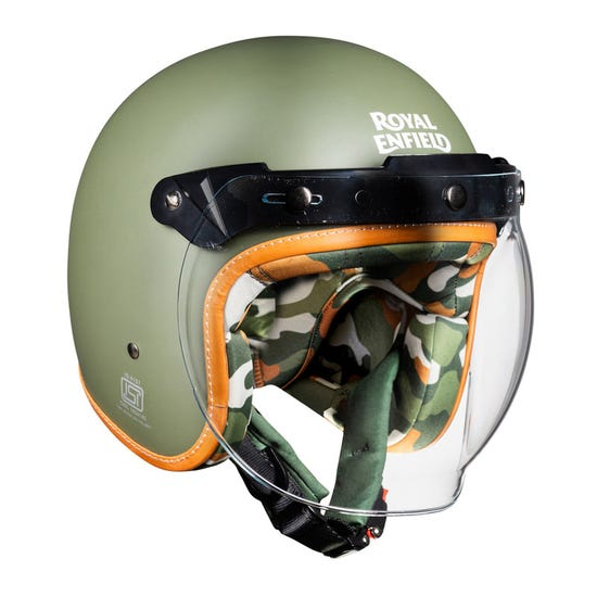 Camo imprint Bobber Helmet-Battle Green