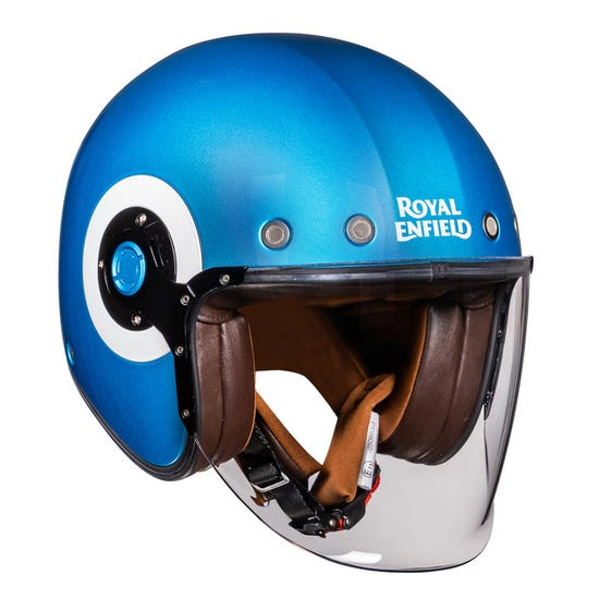 SPIRIT OPEN FACE HELMET-SUPERNOVA BLUE