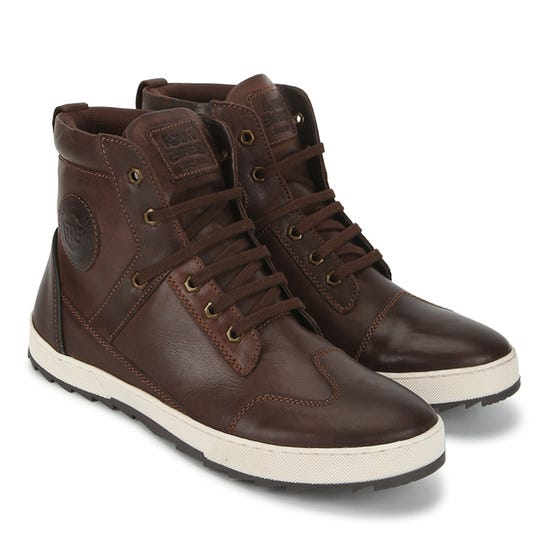 ASCENDERE BOOTS-BROWN