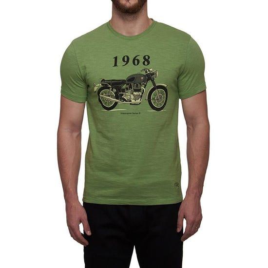 1968 Interceptor T-Shirt Green