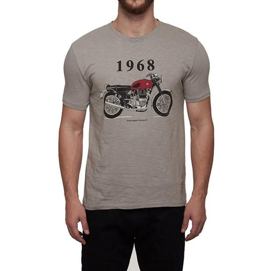 1968 Interceptor T-Shirt Grey