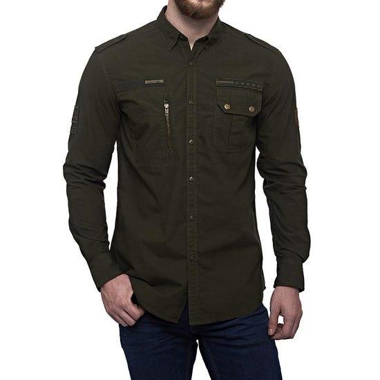 Airborne Camo Shirt Camo Green