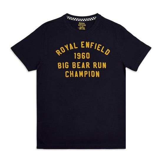 Big Bear Run Champion T-Shirt Navy Blue