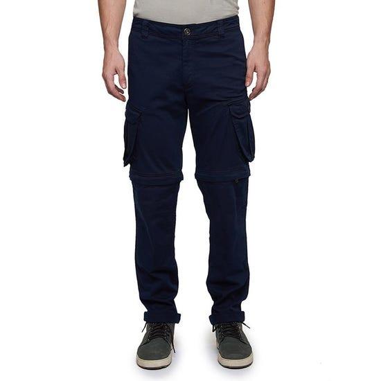 Convertible Cargo Pants Navy Blue